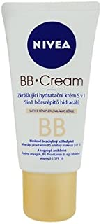Nivea BB Cream - 5 in 1 Beautifying Moisturizer SPF 10 - Light Tone [European Import] 3 Count