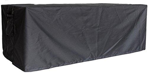Luxus Gartenmöbel Schutzhülle Abdeckhaube Abdeckung Outdoor Cover, Größe  6 + 1, Maße 242 x 162 x 100 cm, Farbe carbon