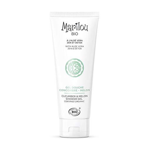 Marilou Bio Seria produktów Classic – pielęgnacja ciała – żel pod prysznic ogórki/melon – tubka o pojemności 200 ml – pobudzi Twój dobry nastrój.