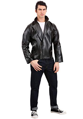 Men's Plus Size Grease T-Birds Jacket Costume 4X Black - http://coolthings.us