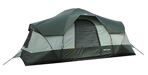 10 Person 3 Season Family Camping Cabin Tent - by Gracefully Rising