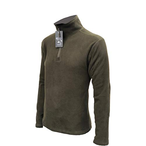 OUTLET MILITARY - Polaire à col zippé - Vert militaire XL vert