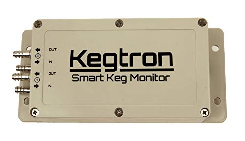 Kegtron Smart Keg Monitor - Dual Tap | Track Your Keg Levels From Your Phone | Upgrade Your Taps