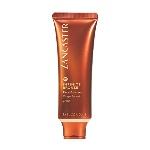 LANCASTER Infinite Bronze Face Bronzer LSF 6, Farbe Sunny, Gesicht-Sonnencreme und Make up, getöntes Cremegel, 50 ml