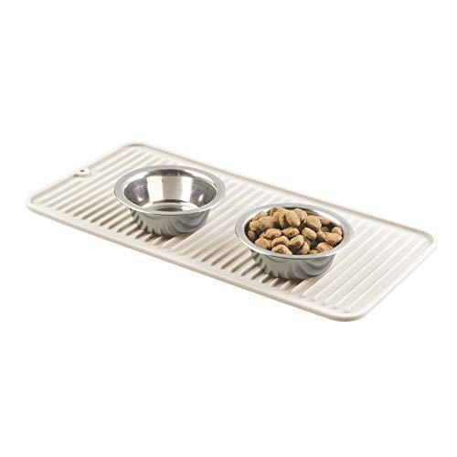 mDesign Dog Bowl Mat – Small Dog...