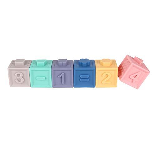 Lernspielzeug für Kinder, pädagogische Weichgummi-Sicherheitsentlastungsbausteine für Kinder, Weihnachtsgeburtstagsgeschenke für Kinder