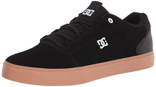 DC mens Hyde Skateboard, Skate Shoe, Black/Gum, 9.5 US
