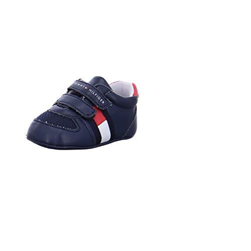 Tommy Hilfiger T0B4-30008-0271 Blue/Red Eco Leather 17 EU
