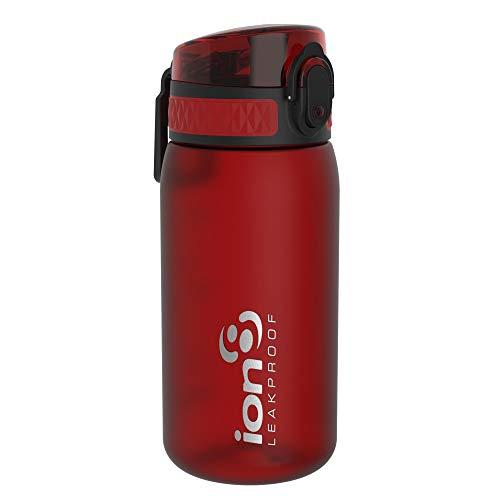 Ion8 Auslaufsichere Kinder Trinkflasche, BPA-frei, Chili Rot