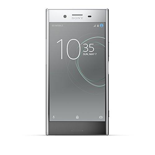 "Sony Xperia XZ Premium - Smartphone de 5.5"" (Bluetooth, Memoria Interna de 64 GB, 4GB de RAM, cámara de 19 MP, Android) Color Cromado"