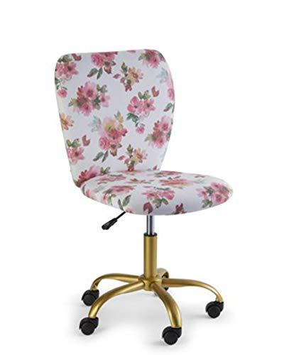 Urban Shop Watercolor Floral Desk Chair, Multi