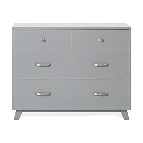 Review Forever Eclectic by Child Craft SOHO 3-Drawer Dresser, Cool Gray
