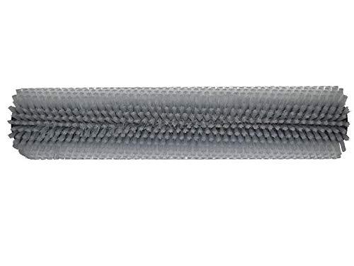 partmax® Bürstenwalze für Lux Uniprof 440, Poly 0,3 mm glatt weiß, Walze, Walzenbürste, Kehrwalze