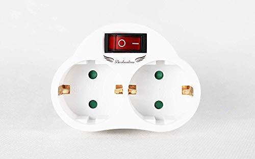 Acobonline-Acobonline-Adaptador 2 tomas con interruptores (2 CAPAS)