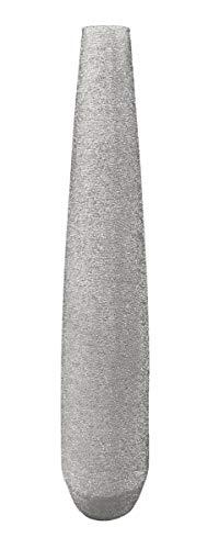 Kaheku Vase Mileno Keramik Silber, Durchmesser 22 cm 1, Höhe 19 cm 748006297
