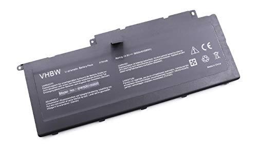 vhbw Batterie Compatible avec Dell Inspiron 15-7537 P36F, 7737, 15-7000, 14, 15, 17, 14-7000, 14-7437 Laptop (3900mAh, 14.8V, Li-ION, Noir)