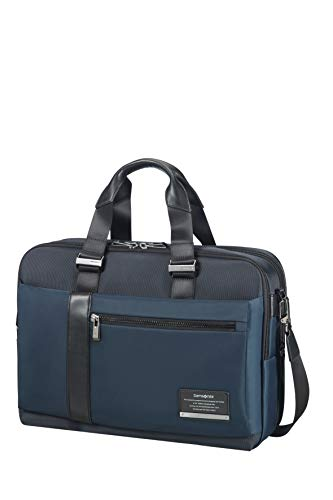 Samsonite Openroad Bailhandle Expandable 39.6cm/15.6inch Space Blue Laptop Briefcase