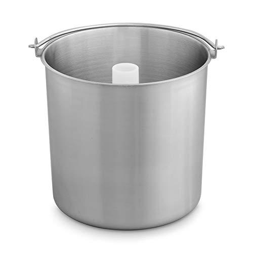 Edelstahl Eisbehälter für Eismaschine, Zusatzbehälter für Emma