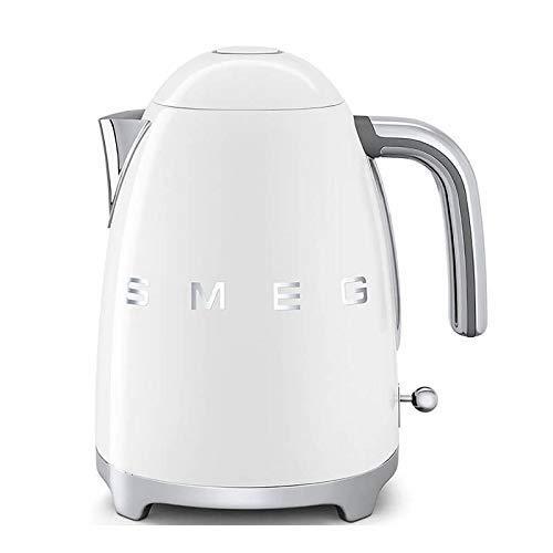 Smeg Elektrischer Wasserkocher KLF03WHEU, Edelstahl, 1.7 liters, Weiß