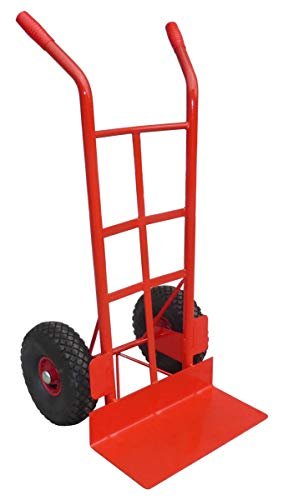 Heavy Duty Sack Truck for Rough Terrain (450kg Capacity), Garden Sack Barrow, Sack Trolley with Large Toe Plate