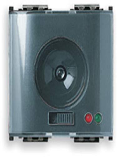 Vimar 16450 Idea Torcia elettronica portatile con LED, dispositivo automatico di emergenza, batteria ricaricabile e sostituibile