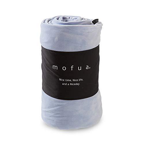 ナイスデイ mofua うっとりなめらかパフ布団を包める毛布 55830113