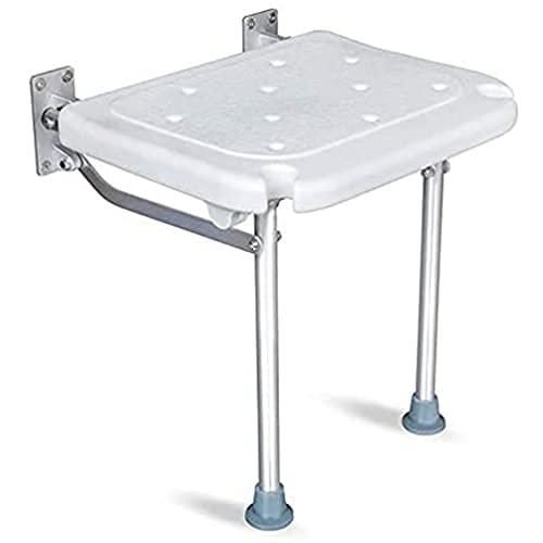 BAIHAO Moderner klappbarer Duschsitzbank Wandmontage Duschstuhl für Senioren, Behinderte, Badezimmerhocker