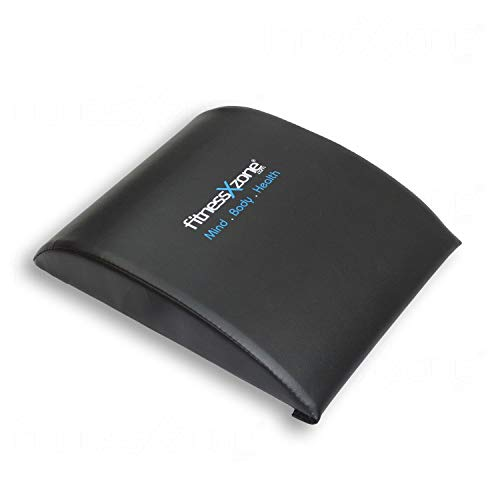 fitnessXzone Ab Mat Abdominal Sit Up Support Pad Core Crossfit Stomach Trainer Exercise Black