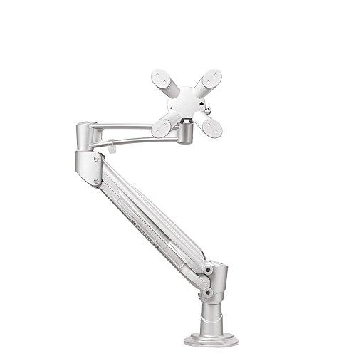 Newstar Fpma-D940G Flatscreen Bureausteun, Zilver, 1 Schermen, 180° Roteren, 360° Zwenken, 60° Kantelen, 0-48Cm Diepte, 0-42Cm Hoogte