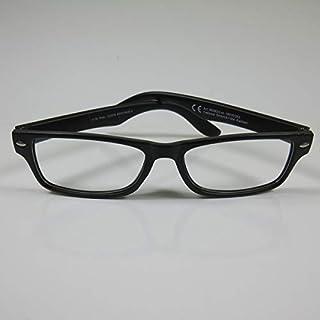 CEPEWA eenvoudige leesbril +2,5 zwart2 dames & heren leeshulp kant-en-klare bril