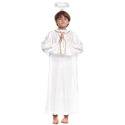 Partilandia Disfraz de Ángel Infantil para Navidad 10-12 años