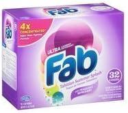 Fab Rare Ultra Powdered Laundry Import Detergent Splash Tahitian Summer 2.