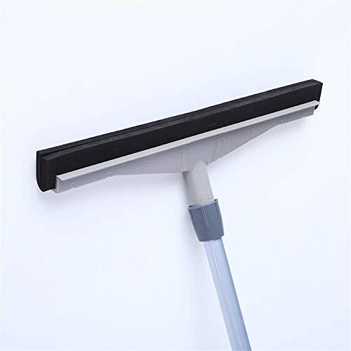Großboden-Rakel Nassraumdusche Heimwischer-Wischmopp mit Super Wide75CM-Gummischaum-Schaberklinge mit langem Griff für Garagenbüro Gewerbliche Reinigung Waschen Trocknen Badezimmer Innen- oder Außenbo