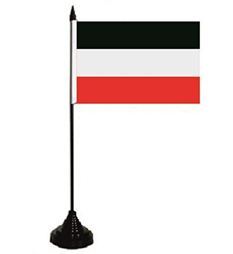 U24 Tischflagge Deutsches Reich Kaiserreich Fahne Flagge Tischfahne 10 x 15 cm