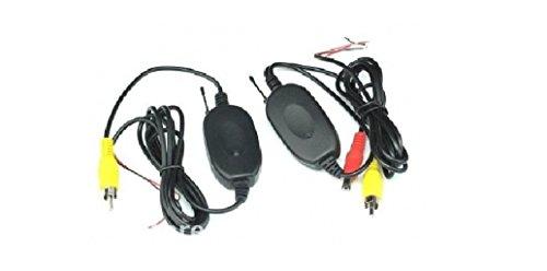 Taffio 2,4Ghz Funk Sender und Empfänger für Rückfahrkamera Universal-Funk-Set
