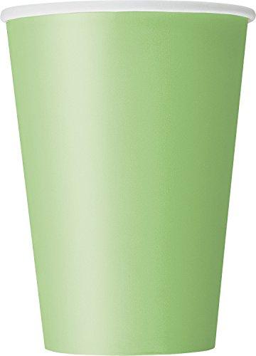 Unique Brilliant POLKA - Vajilla (8 unidades), color verde lima