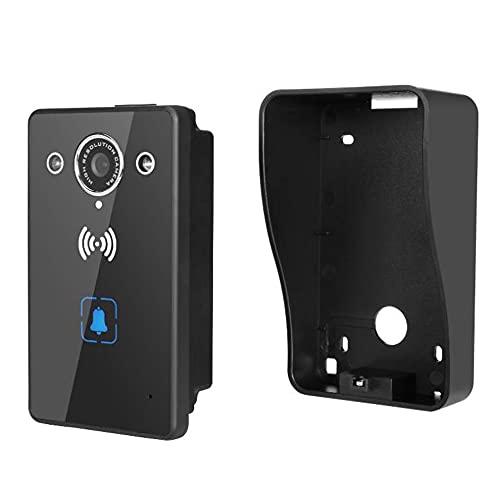 HXXXIN Timbre con Video Timbre inalámbrico Inteligente con WiFi Intercomunicador Video Remoto Timbre inalámbrico