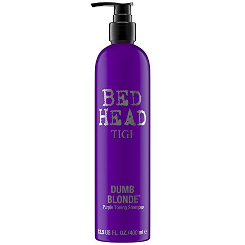 BED HEAD by TIGI DUMB BLONDE, Shampoo con pigmenti viola per capelli biondi 400 ml