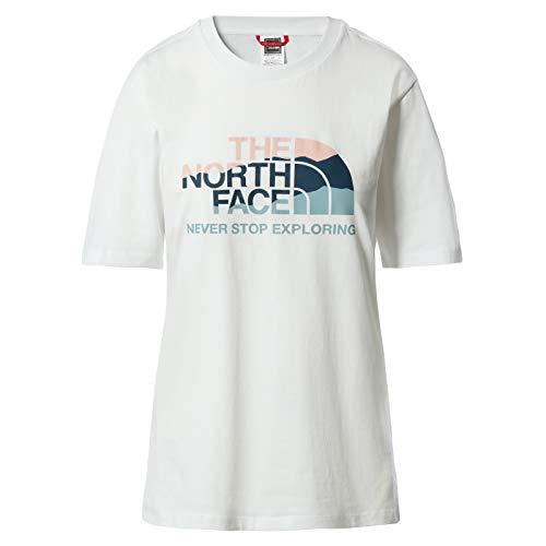 THE NORTH FACE - Graphic 2 T-Shirt für Damen - Standardpassform - Rundhalsausschnitt, XS
