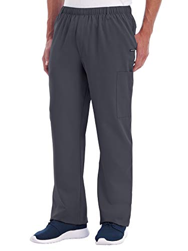 Jockey 2305 Men's Multi-Pocket Cargo Scrub Pant Charcoal M
