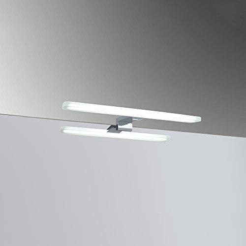 Kristaled Foco LED Redondo, 7 W, Blanco Frío, 30 x 12.3 x 3.4 cm