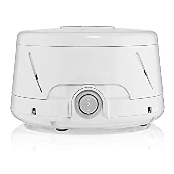 Yogasleep Dohm Classic  White  The Original White Noise Machine Soothing Natural Sound from a Real Fan Noise Cancelling Sleep Therapy Office Privacy Travel For Adults Baby 101 Night Trial