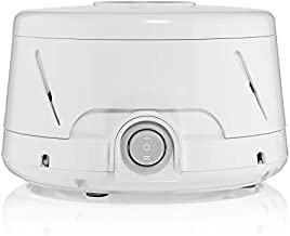 Yogasleep Dohm Classic (White) The Original White Noise Machine Soothing Natural Sound from a Real Fan Noise Cancelling Sleep Therapy, Office Privacy, Travel For Adults, Baby 101 Night Trial