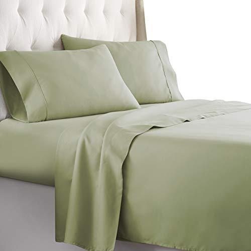 Hotel Luxury Bed Sheets Set 1800 Series Platinum Collection Softest Bedding Deep PocketWrinkle amp Fade Resistant FullSage