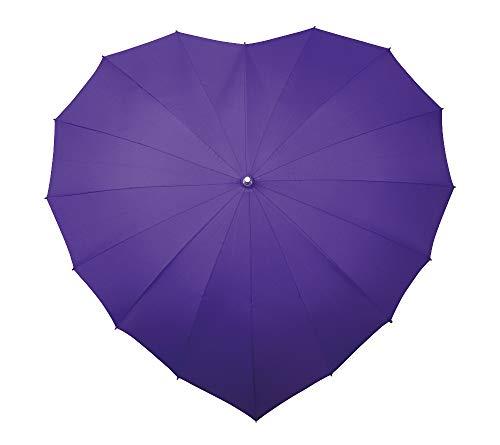VON LILIENFELD paraplu dames parasol bruidsscherm bruiloft hart