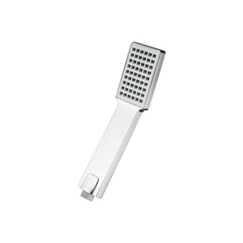Ibergrif M20202 douchekop, vierkant, douchehandgreep, zilver, 1/2 inch