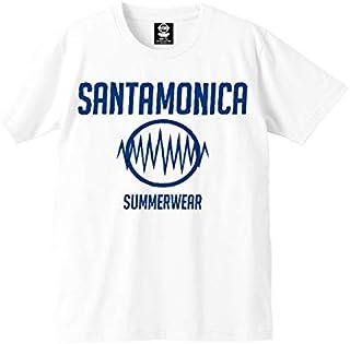 (サンタモニカ サマーウェア) SANTAMONICA SUMMERWEAR SMSW logo Tシャツ 半袖 黒 白 Tee Black White