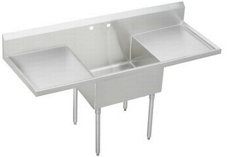 Best Price Elkay WNSF8136LOF2 Commercial Sink Lustrous Satin Finish