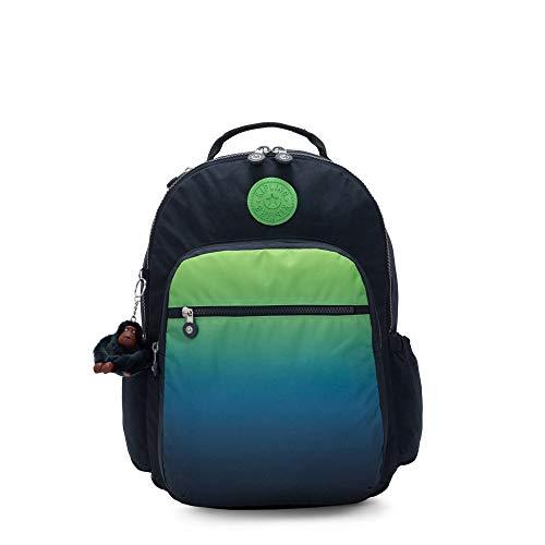 Kipling Seoul Go Large Printed 15' Laptop Backpack Washed Lines Mx
