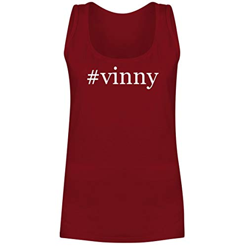 #Vinny - A Soft & Comfortable Hashtag Women's Tank Top, Red, XX-Large